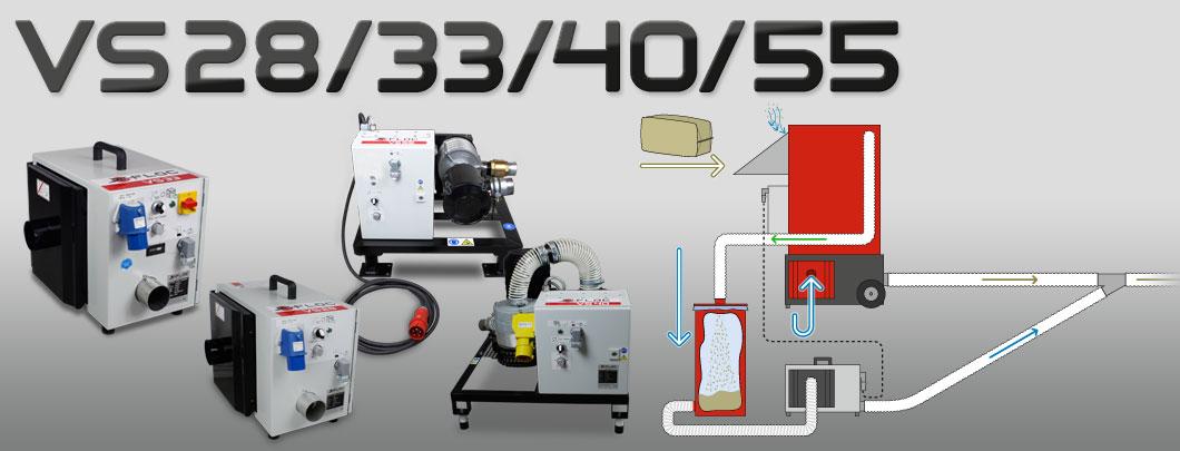 X Floc 183 Amplifier Vacuum Stations