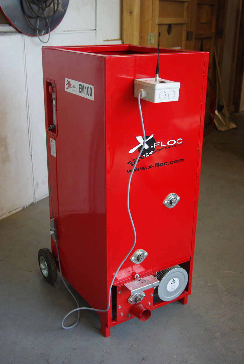X Floc 183 Em100 Insulation Blowing Machine